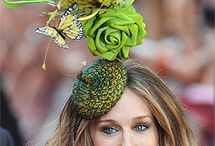 Philip Treacy Hat Designs Worn by Sarah Jessica Parker / Philip Treacy Hat Designs Worn by Sarah Jessica Parker / by Strawberry Couture Etsy Unique Crochet and Knit Hats Scarves Patterns