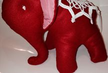 Elefante hand made / Sonaglio bimbo hand made