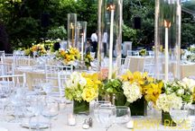 Late spring wedding / A wedding in tones of white, yellow and champagne.