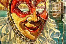 Венеция, маскарад