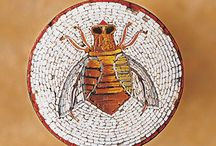 Micro mosaic art / Inspiration for micro mosaic classes taught during summer camps