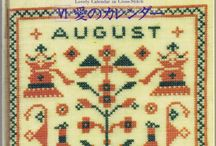 cross stitch diary