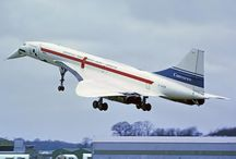 "Concorde / I was lucky enough to fly Concorde LDN to JFK return in 1991. When I was a kid Concorde 02 carried out ""hot and high"" trials in Johannesburg where we lived - 1973"