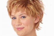 short hair styles for women in 50's