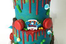 kids drip cakes