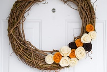 fall decor / projects / by Sally Metzger