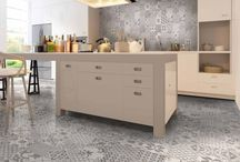 Grey Wall Tiles / Stylish grey wall tiles perfect as grey kitchen tiles or for modern grey bathrooms.