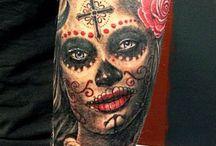 Tattoos I wear / My tattooes - Artist Pontus Jonsson of www.alternativeart.se