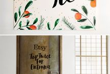 on beautiful letters / Lettering, calligraphy and all those beautiful letters