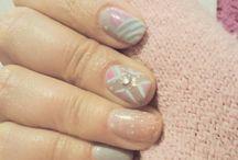 polka nails / Nail art