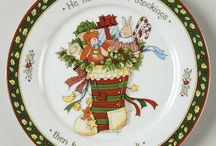 Christmas porcelain