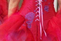 Mes robes de mariées couleur / Robes de mariée en couleur signées Carole CELLIER