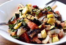 Grilled salads