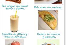 comidas plan nutricional
