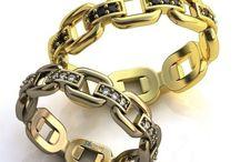 Verighete de Lux 3D / Verighete aur din colectia de lux 3D
