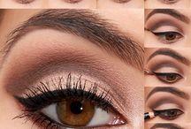 Maquiagem dos olhos de noiva