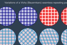 Seamless SVG Pattern / A collection of seamless repeating SVG pattern