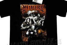 Metallica футболки / Metallica футболки в magazin-futbolok.su