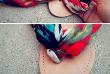 Sandálias de dedo