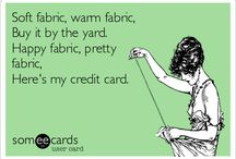 Sew Funny! See what I did there? / Sew funny!