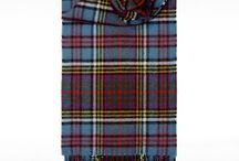 Tartan Scarves / Tartan Scarves are Perfect winter gifts