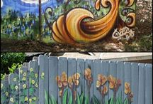 kerítés festések