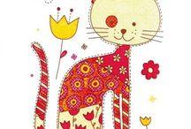 Animales ilustrados / Ilustraciones de animales