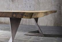 Mese lemn&metal