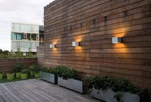 Welcome outdoor wall lamp / Outdoor wall lamp in a cubic and minimalistic design
