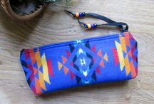 Pendleton Pencil Cases / I love to sew, and in 1998 when Michael  asked me to sew him some flute bags I chose my favorite  Pendleton® fabric and  haven't stopped sewing!  I now design and sew for many flute and whistle makers and over the years have expanded my line to include pipe bags music cases, totes, purses, and many other fun designs.  Here are some of my favorite pencil cases made from Pendleton fabric!