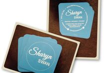 Business Cards / A collection of business cards we have designed for our clients