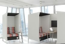 Office Hideaways and collaboration zones
