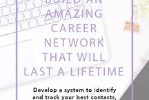 Career Advice / Career advice for working moms. Pins on professional development, job hunting, changing careers, career growth, developing your skills and being productive at work.