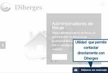 Imagenes corporativas / Imágenes publicadas por Diherges en los distintos medios sociales