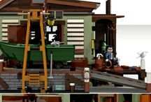 Lego Sea Front