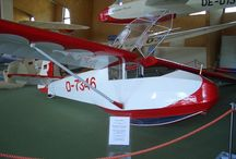 Gliders, vintage, modern, microlights and home built, sport planes