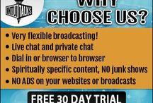 online radio/tv