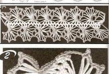Crochet - Hairpin & Broomstick ideas / Tutorials, patterns, tips