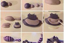 Kneten - Formen - Trocknen
