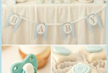 baby shower - sweet tables