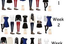 Zosúladený šatník