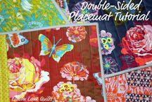 Sewing - Table runner/placemats/mug rug