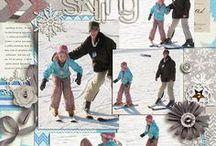Scrapbooking Skiing