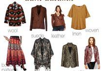 Dark Striking Autumn Fabrication / print and pattern