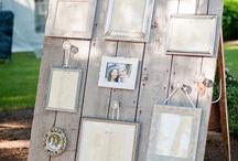 Wedding {Seating Charts & Escort Cards}