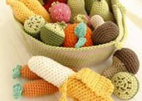 DIY. Crochet DROPS fruit and vegetables