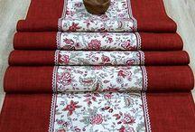 Obrus - bytový textil - home textiles / Bytový textil, obrus, úžitkový textil