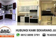 kitchen set bojong gede