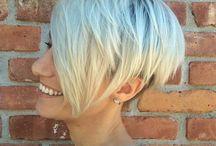 Short hairstyles / Messy short