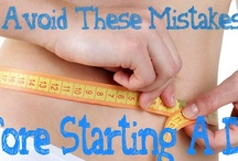 Avoid These Mistakes Before Starting A Diet / by Helen Nguyen